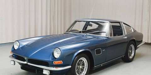 The AC Frua Coupe isn't as faultlessly elegant as its purebred Italian peers, but its brashness grows on you.