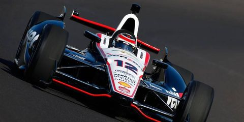 Will Power will start on the outside of the front row after qualifying third for the Indianapolis 500.