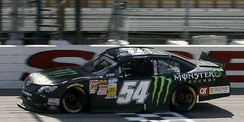 San Hornish Jr. was a winner in a rare NASCAR Nationwide standalone event on Sunday afternoon in Newton, Iowa.