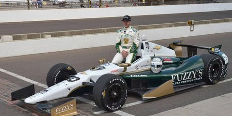 Ed Carpenter will try to make it back-to-back pole positions at Indianapolis.