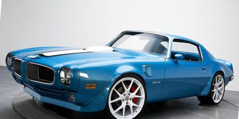 The Stone Soup 1970 Pontiac Firebird will be restored to look like this, then be auctioned off for charity.