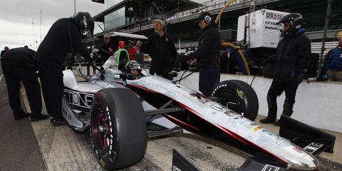 Kurt Bush recently said that driving at Indy is a lot like driving at Darlington.