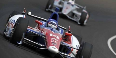 Takuma Sato ran 150 laps by himself on Thursday in preparation for the Indy 500.
