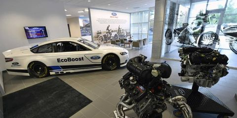The Ford Racing Technical Center will open later this year.