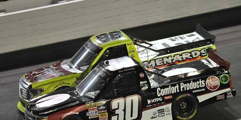 Matt Crafton won the NASCAR Camping World Truck Series title in 2013.