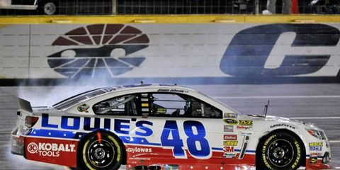Jimmie Johnson won last year's Sprint All-Star Race at Charlotte. He's the event four times in his career.