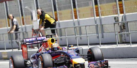 Red Bull has again been unimpressive at in-season testing this week.