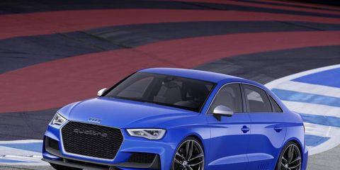 The Audi S3 Clubsport quattro makes 518 hp.