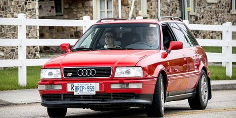 This Audi S2 is perhaps the only one in North America.