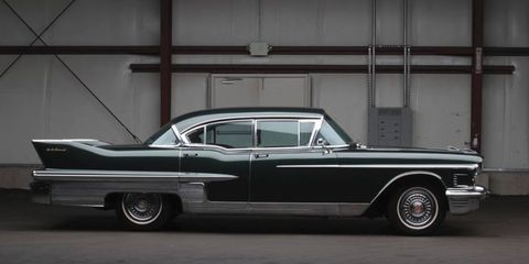 This insanely well-preserved 1958 Cadillac Fleetwood 60 Special Sedan sold for $28,600. No, that's not a typo.