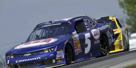 Ron Fellows, shown racing in a NASCAR Nationwide race last year, will drive in the Trans Am Series at Mosport.