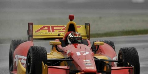 Sebastian Saavedra qualified for his first Indy 500 in 2010 at the young age of 19.