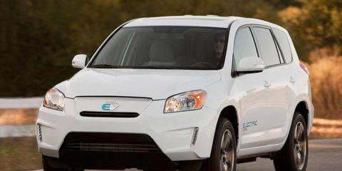 The Toyota RAV4 EV used a Tesla powertrain.