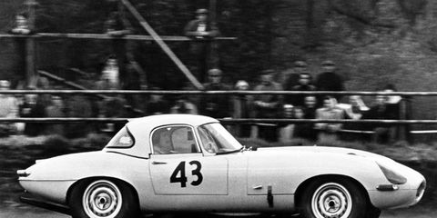 Jaguar built 12 Lightweight E-type, but had 18 chassis numbers. It's building six recreations.