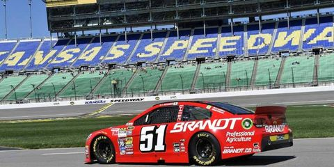 Allgaier has wrecked in three of the last four NASCAR Sprint Cup races.