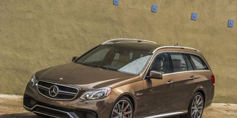 The 2014 Mercedes-Benz E63 AMG S-Model 4Matic is a wicked wagon that we want to own.