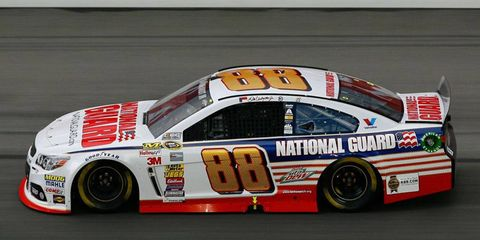 Dale Earnhardt Jr. and Hendrick Motorsports have a sponsorship deal with the National Guard.