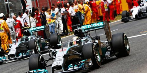 Lewis Hamilton not-so-quietly pulled into the Formula One lead with his win in Spain.
