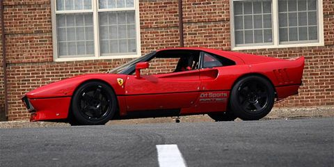 This Ferrari was built from a hodgepodge of parts and competed in both JGTC and IMSA.