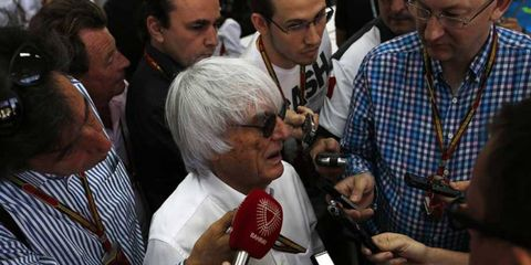 Eighty-four-year old Bernie Ecclestone is facing up to 10 years in prison.