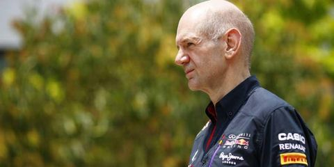 The details of Adrian Newey's contract with Red Bull have not been released to the public.