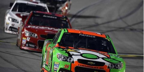 Danica Patrick's seventh-place finish at Kansas was the second top-10 finish of her Sprint Cup career.