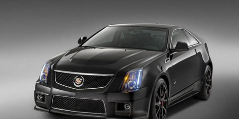 Only 500 2015 Cadillac CTS-V coupes will be produced.
