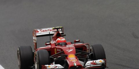 Kimi Raikkonen has struggled all season long.