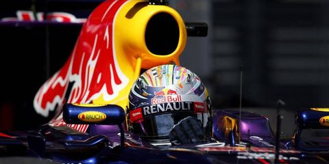 Sebastian Vettel will start 15th on Sunday for the Spanish Grand Prix. He was penalized after Red Bull had to put in a new gear box.