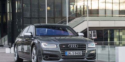 The S8 will reach 60 mph in just a tick less than four seconds, then just keep on gunning down the road so quickly that the undertaking is initially just gobsmacking.
