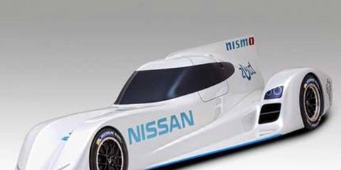 The Nissan ZEOD RC is fueled by a petrol engine.