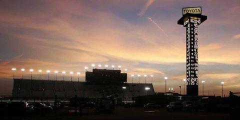Nashville Superspeedway has gone unused (except for tests) since 2011.