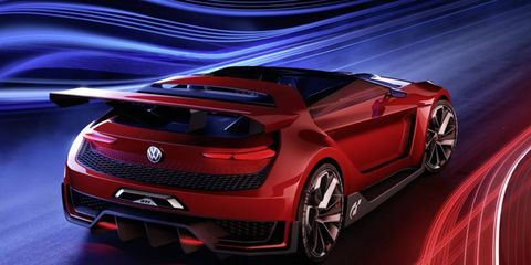 The Volkswagen GTI Roadster was introduced at Woerthersee on Thursday.
