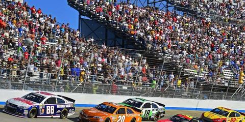 10 different drivers have already won races during the 2014 NASCAR Sprint Cup season.