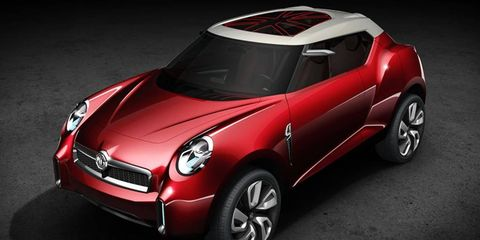 MG's Icon concept may preview the styling direction of a possible sports car.