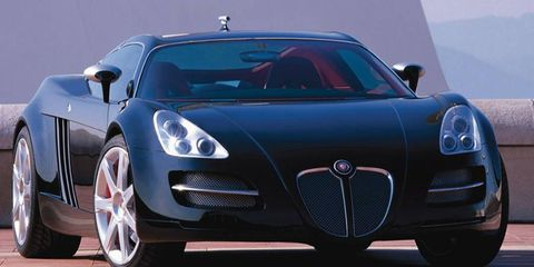 The BlackJag carried a Jaguar badge, but in reality the midengined supercar concept shared little with anything in the Jaguar lineup.