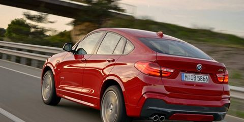 The 2015 BMW X4 breaks new ground in the X3 category.
