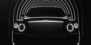 """Bentley went live with NewBentley.com on Tuesday, calling it """"The shape of things to come."""""""