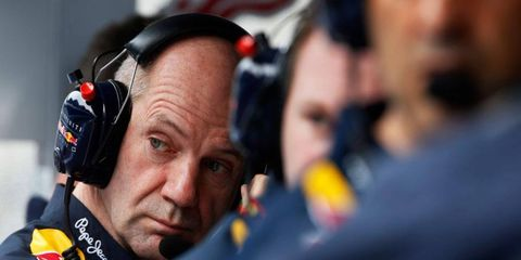 Adrian Newey says he's committed to Red Bull Racing, but other teams seem interested in seeing exactly how committed.