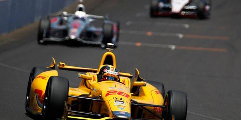 Ryan Hunter-Reay became the first American to win the Indianapolis 500 since Sam Hornish Jr. in 2006.