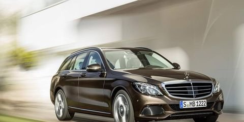 """The Mercedes-Benz C-class Estate has """"dynamic-agile handling,"""" whatever that means."""