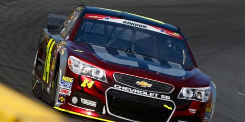 Jeff Gordon is hopeful he can race the full 600 miles at Charlotte Motor Speedway on Sunday.