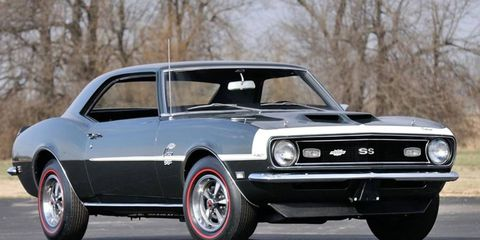 This restored Yenko Camaro SS had just 1,340 miles at the time of the sale.