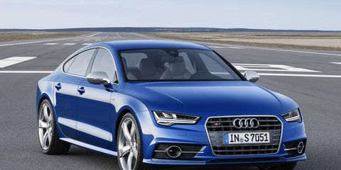 The Audi S7 will come out in Europe this summer, followed later by the U.S. model.