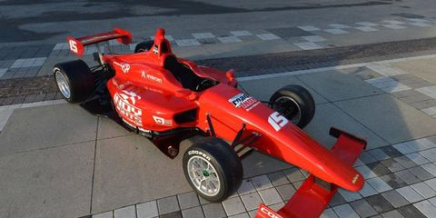 The Dallara IL-15 was unveiled on Thursday at the Indianapolis Motor Speedway.