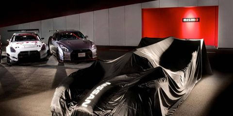 Nissan is teasing its LMP1 entry for 2015 on its website.
