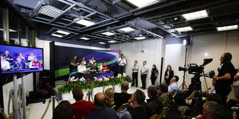 Several Formula One team reps met with the pres on Thursday from Monaco.