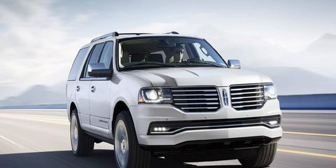 The 2015 Lincoln Navigator comes out this fall.