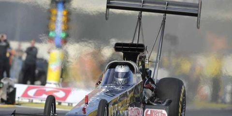 Bob Vandergriff is currently in 12th place in the NHRA Top Fuel standings.