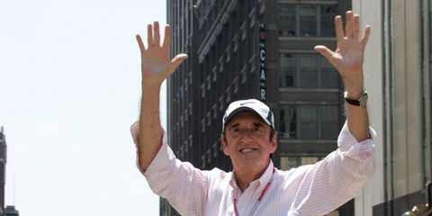 Jim Nabors, shown in a picture from 2009, is preparing to sing 'Back Home Again in Indiana' for the final time at the Indy 500.